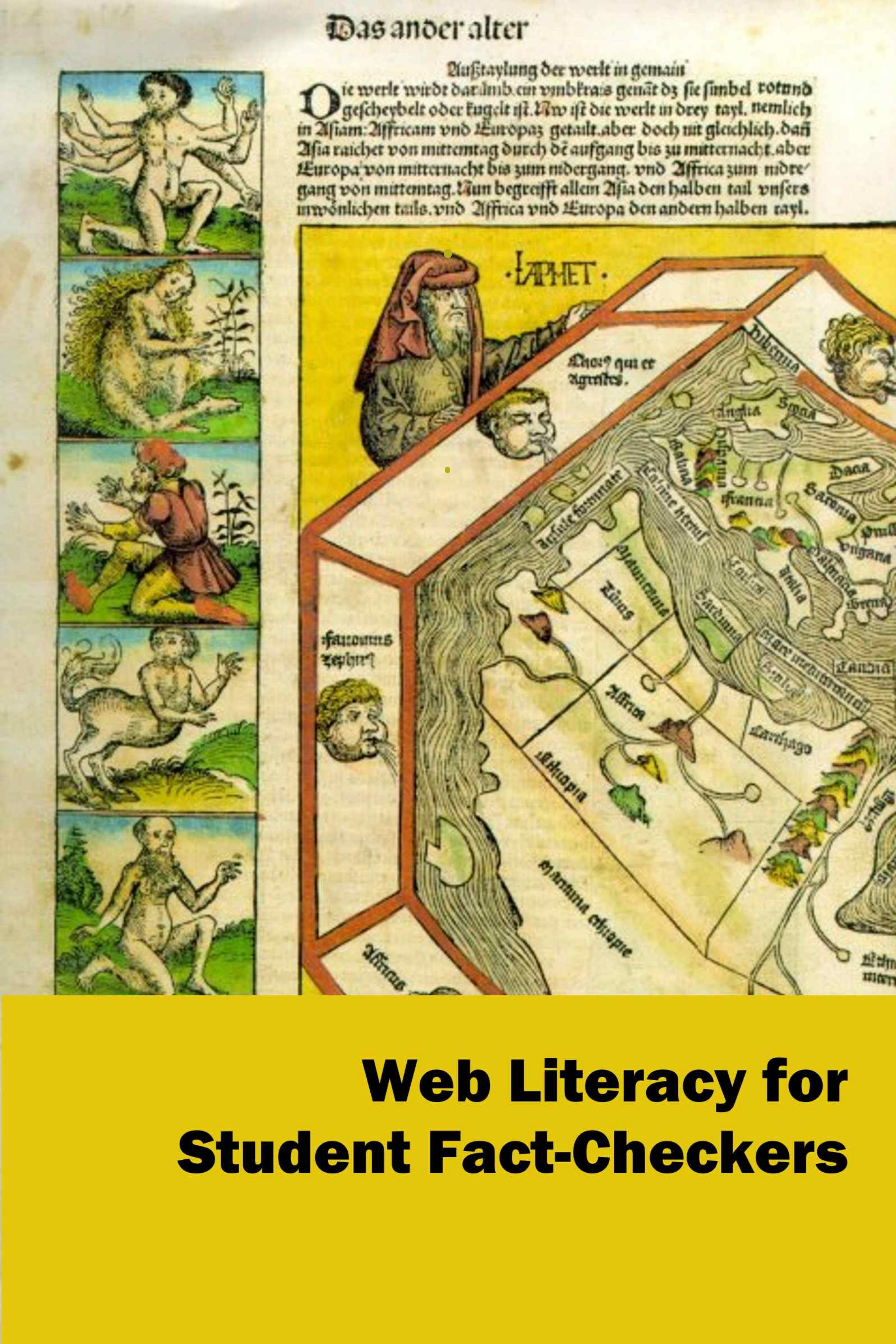 web literacy for student fact-checkers cover